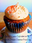 Carrot Cake Cupcakes via Pale Yellow