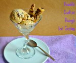 Double Cookie Dough Ice Cream via Pale Yellow
