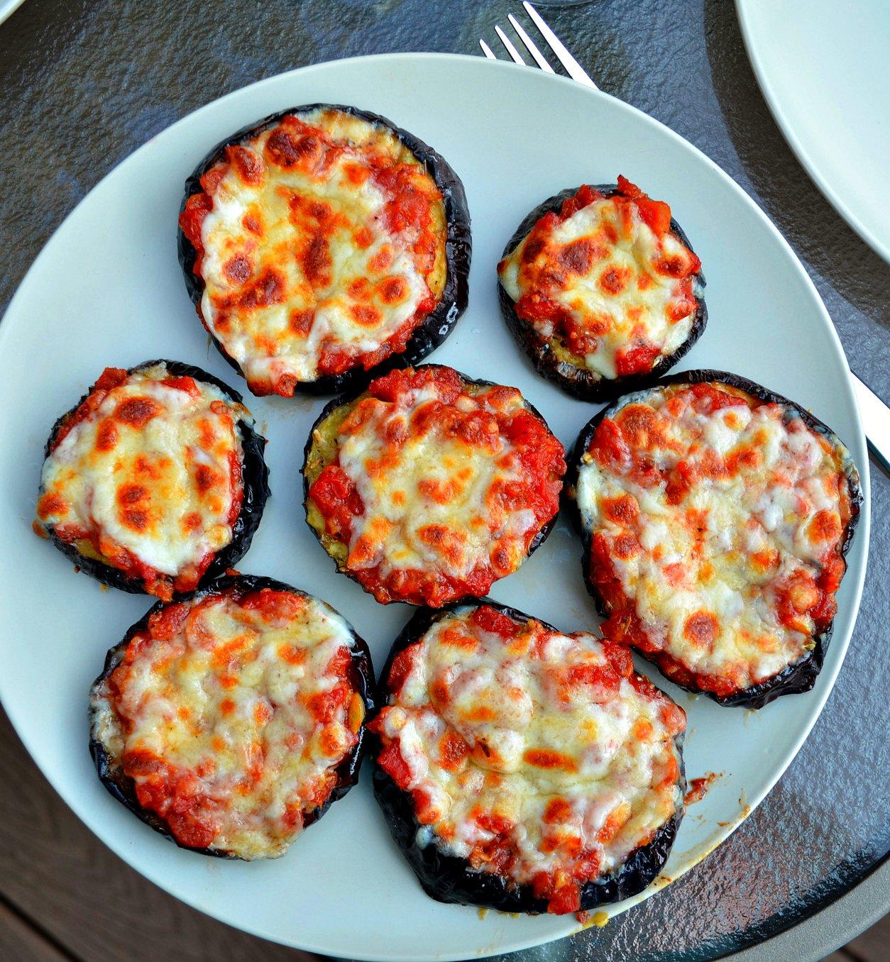 Eggplant Cheese Pizza Recipe