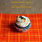 Chocolate Ganache Cupcakes with Caramel Buttercream via Pale Yellow