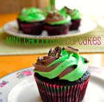 Mint Chocolate Cupcakes via Pale Yellow