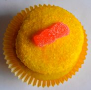 Sour Patch Kids Cupcakes // Pale Yellow