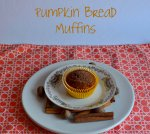 pumpkin bread muffins // pale yellow