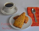 Pumpkin Scones // pale yellow