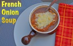 french onion soup // pale yellow
