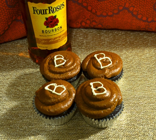 boozy cupcakes // pale yellow