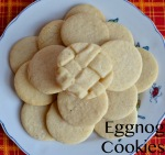 Eggnog Cookies // Pale Yellow