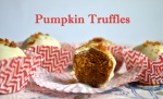 Pumpkin Truffles // Pale Yellow