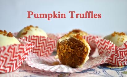 Pumpkin Truffles // Pale Yellow
