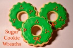 Sugar Cookie Wreaths // Pale Yellow