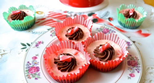Candy Cane Cheesecakes 6