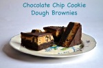 Chocolate Chip Cookie Dough Brownies // Pale Yellow
