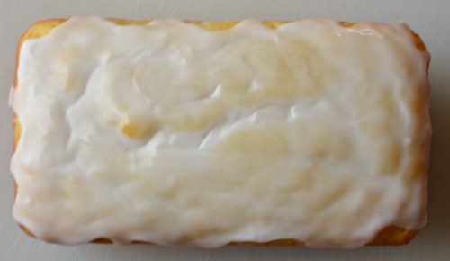 Lemon Loaf Cake // Pale Yellow