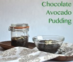 Chocolate Avocado Pudding // Pale Yellow