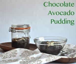 Chocolate Avocado Pudding // Pale Yellow