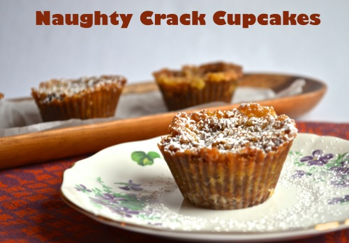 Naught Crack Cupcakes // Pale Yelow