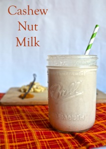 cashew nut milk // pale yellow
