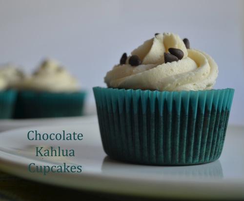 Chocolate Kahlua Cupcakes | Pale Yellow
