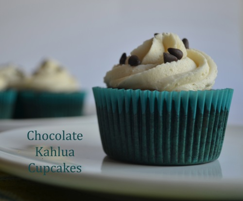 Chocolate Kahlua Cupcakes | Pale Yellow