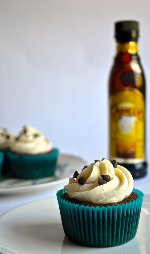 Irish Coffee Cupcakes | Pale Yellow