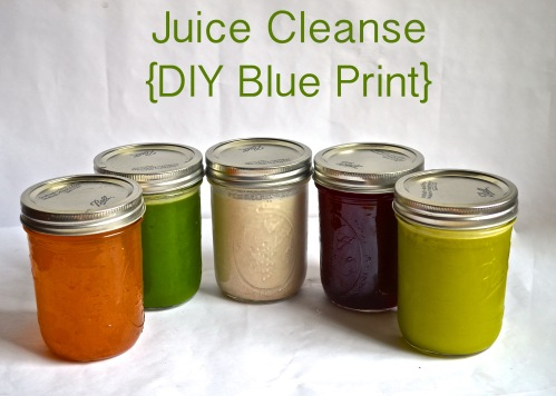 juice cleanse {blue print} // pale yellow