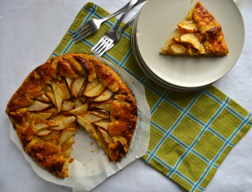 Pear Galette | Pale Yellow