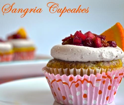 Sangria Cupcakes | Pale Yellow
