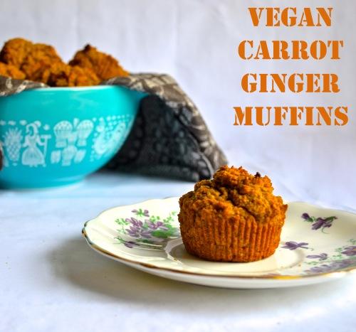 Vegan Carrot Muffins | Pale Yellow