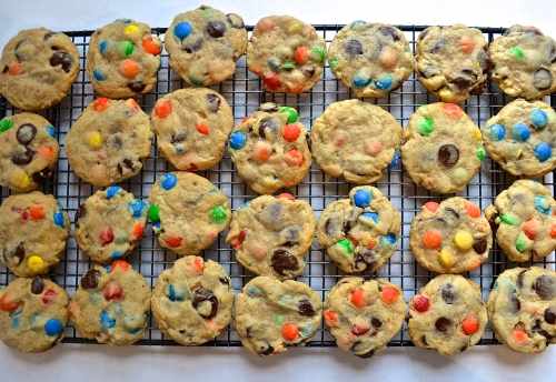 chewy m & m cookies | Pale Yellowchewy m & m cookies | Pale Yellow