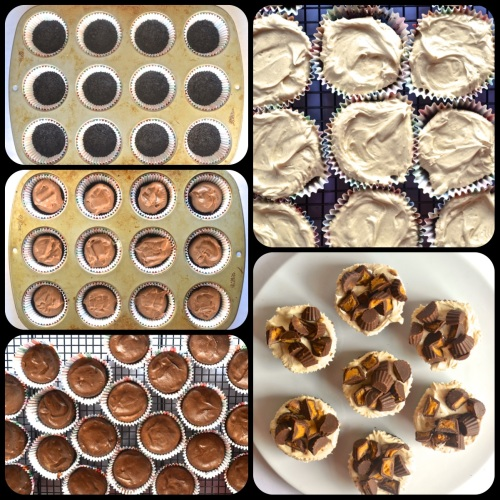 Peanut Butter Cup Cheesecakes | Pale Yellow
