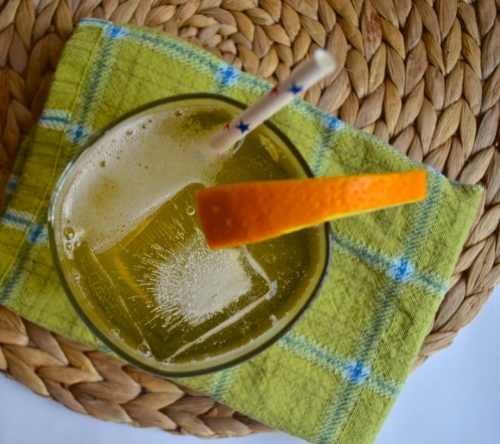 orange ginger syrup | pale yellow