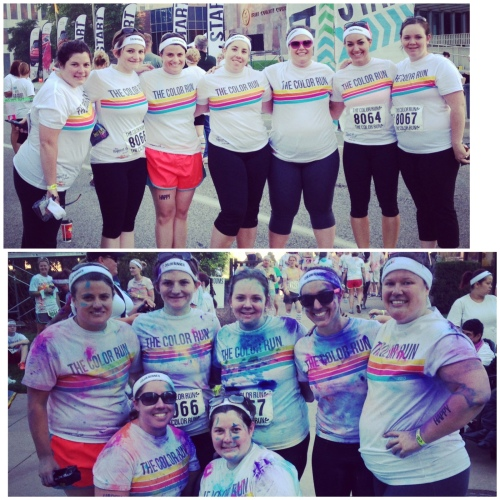Color Run Grand Rapids #happiest5K | Pale Yellow