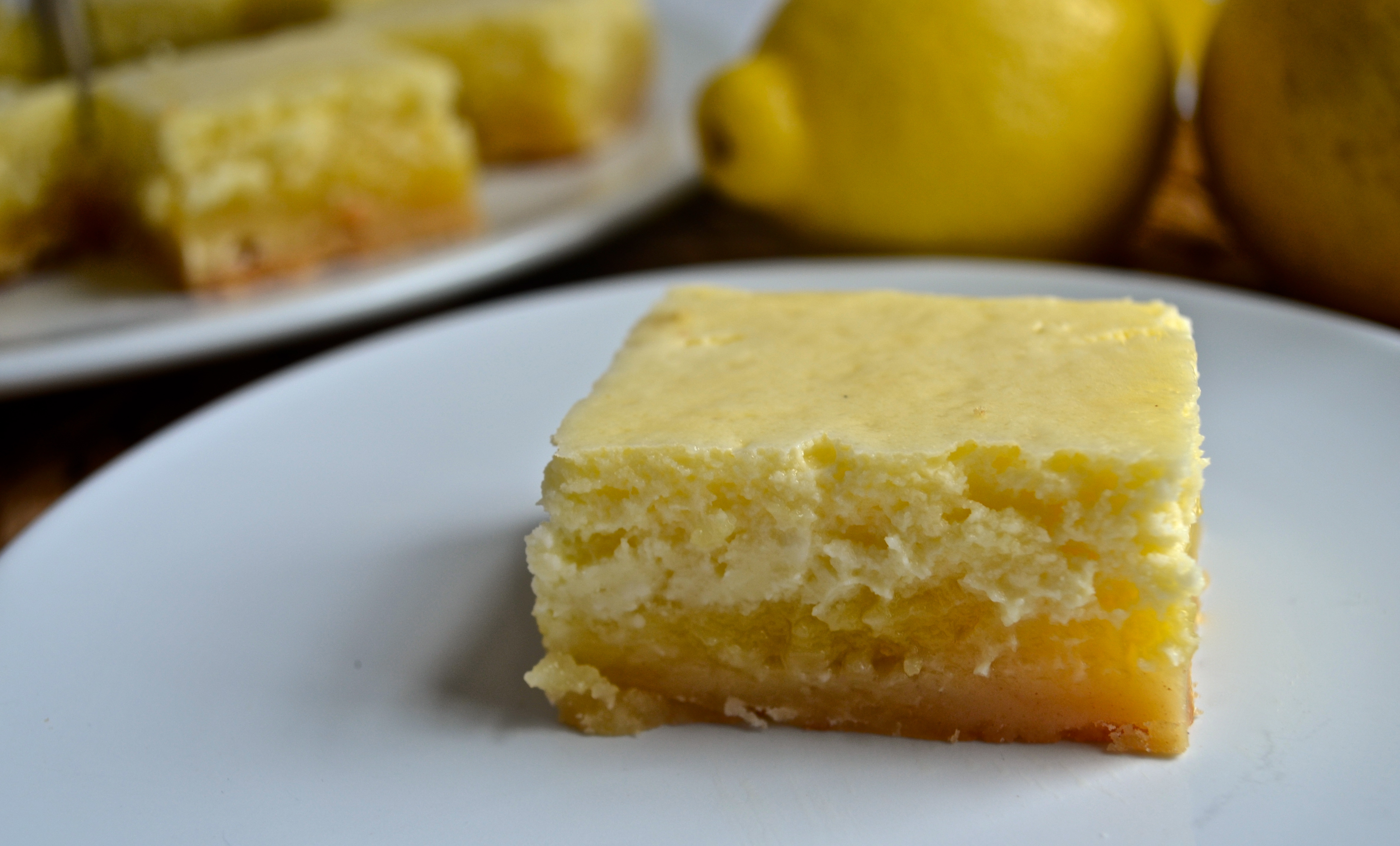 Lemon Bar Cheesecake Recipe — Dishmaps