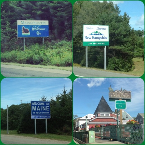 Maine Trip Signs | Pale Yellow