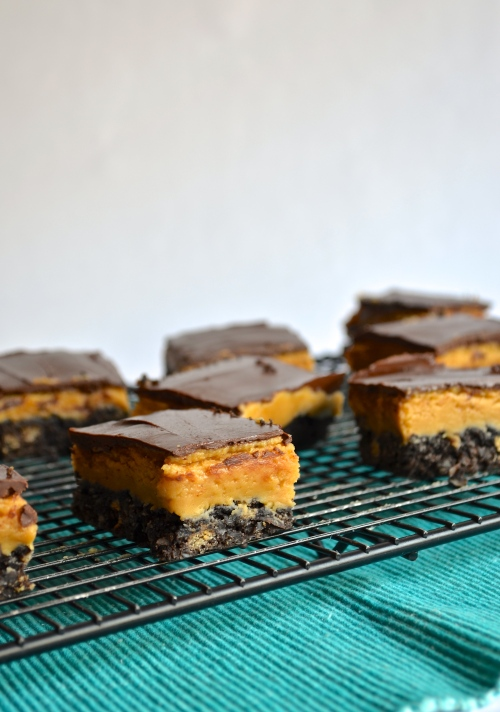 peanut butter nanaimo bars | pale yellow