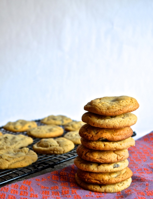 sumbitches cookies | pale yellow { Peanut butter, caramel, and chocolate chip cookies inspired by HIMYM}