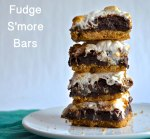 Fudge S'more Bars | Pale Yellow