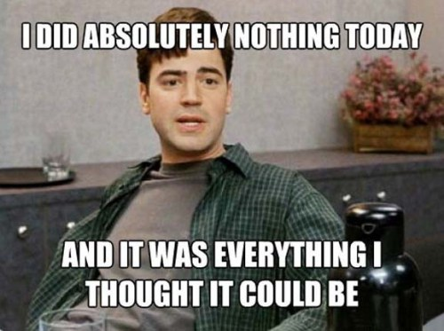nothing today