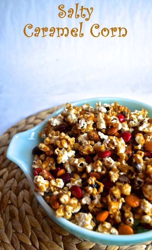 salty caramel corn | pale yellow
