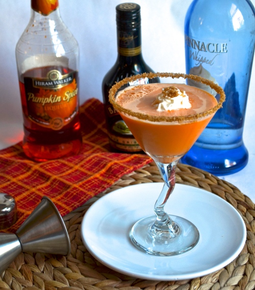 Pumpkin Pie Martini | Pale Yellow