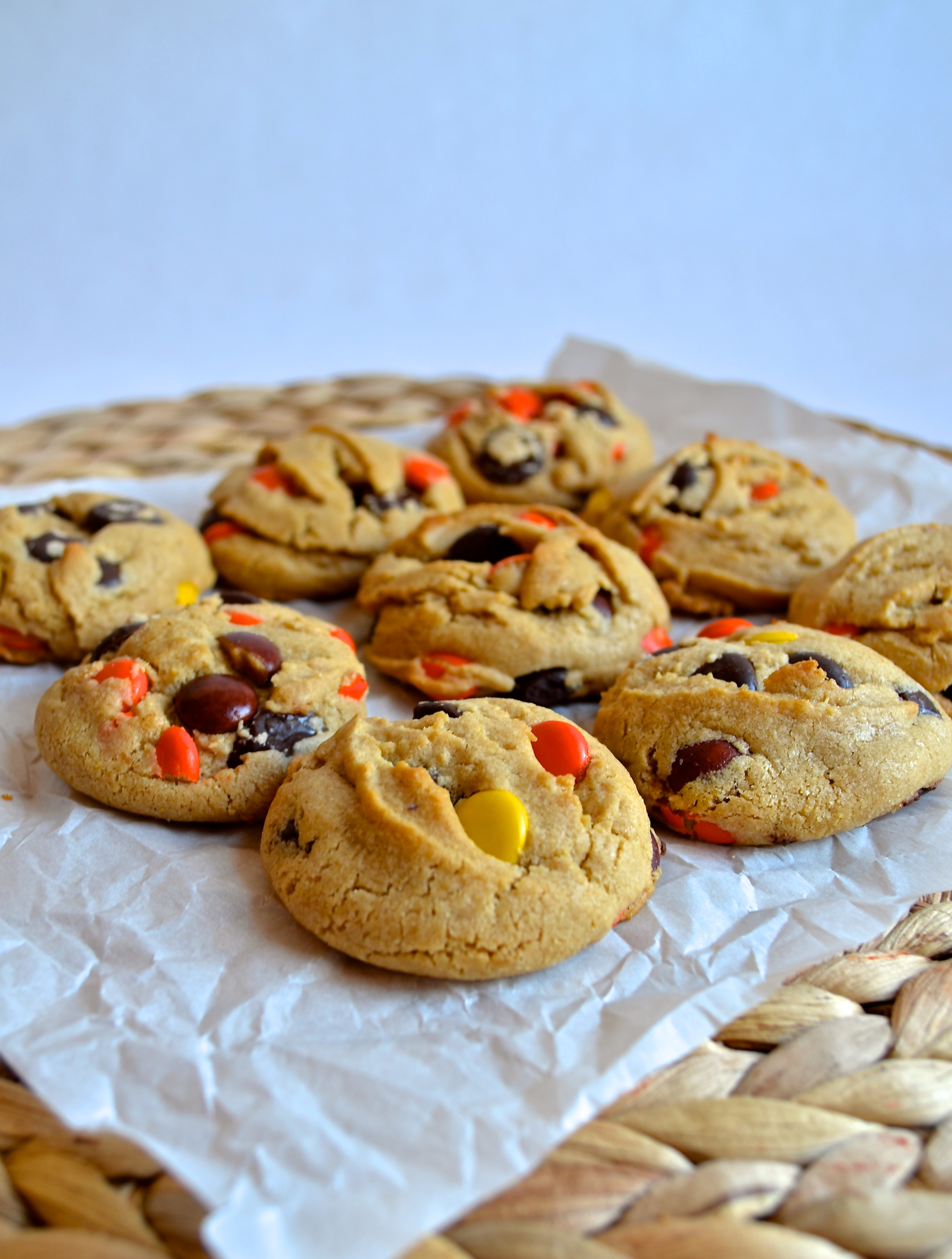 Reeses Chocolate Peanut Butter Cookies Peanut Butter Cookies With