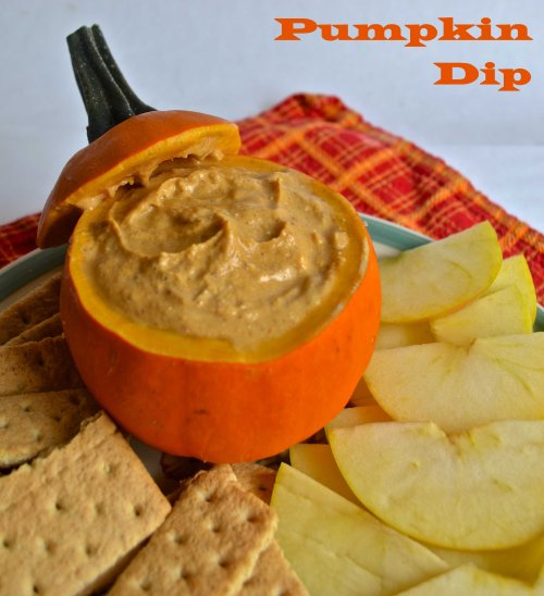 pumpkin dip | pale yellow