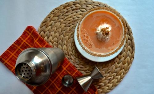 Pumpkin Pie Martini | Pale Yellow