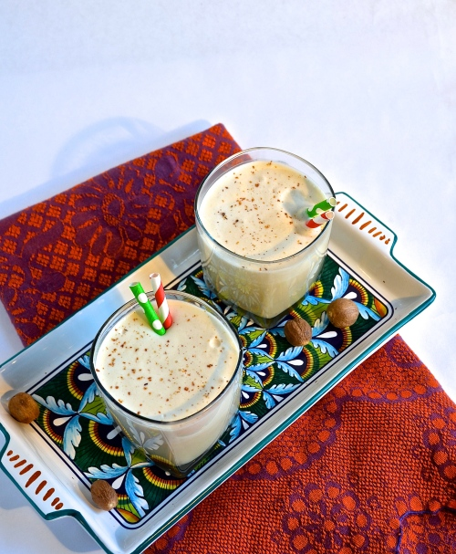 Boozy Eggnog | Pale Yellow