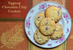 Eggnog Chocolate Chip Cookies | Pale Yellow