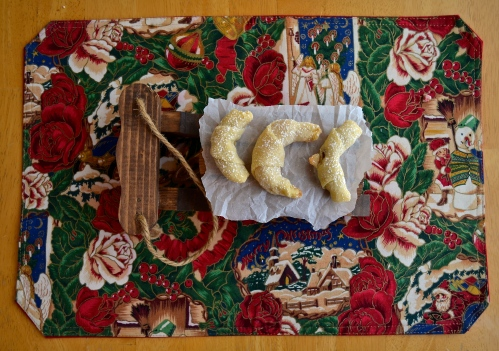 Slovak Crescent Cookies | Pale Yellow