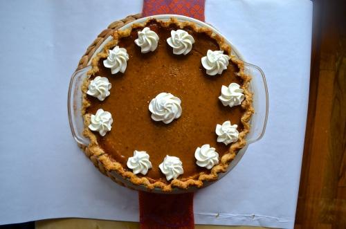 pumpkin pie | pale yellow
