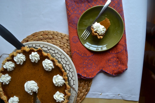 pumpkin pie | pale yellow