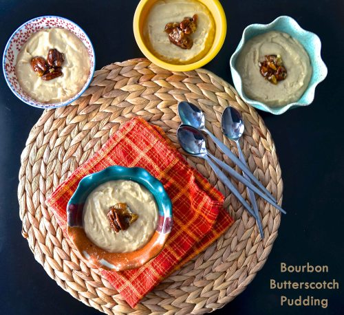 Bourbon Butterscotch Pudding | Pale Yellow