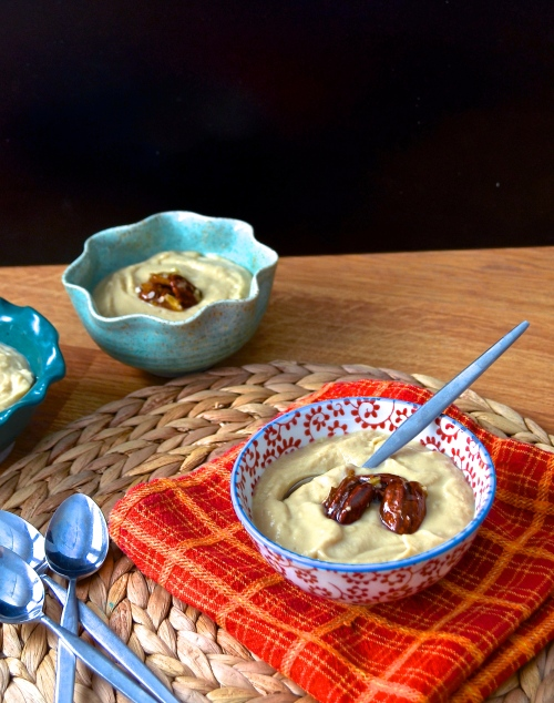 Bourbon Butterscotch Pudding | Pale Yellow